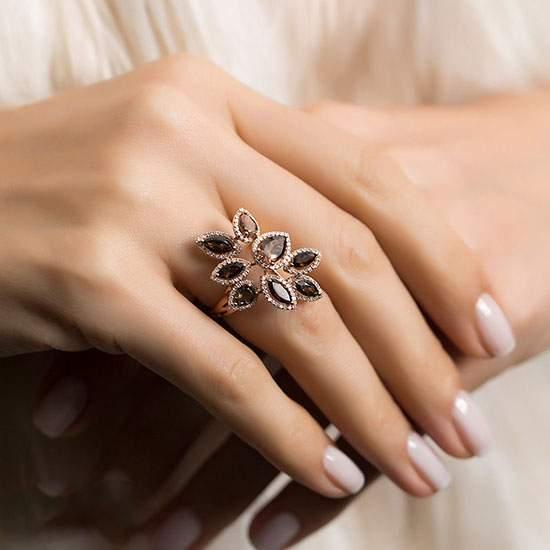 مدل های طلا جواهرات برند Zen Pırlanta