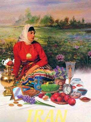 شعرهای زیبا در مورد نوروز از شاعران بزرگ و نامی
