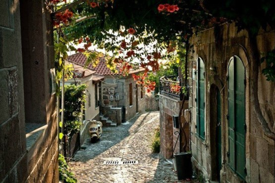 مولیووس ، در جزیره لسبوس یونان.