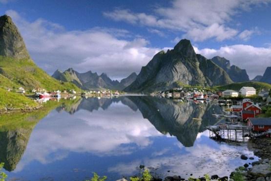 روستای رین ، در نروژ.