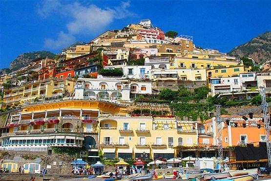 پوزیتانو ، در استان کامپانیا در جنوب ایتالیا.