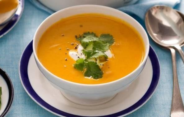 سوپ هویج مراکشی