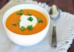 طرز تهیه سوپ هویج مراکشی