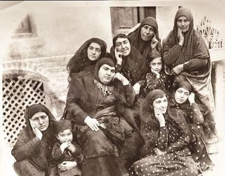 عکس جالب از دختران تهرانی در 100 سال پیش