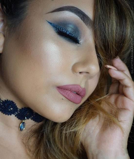 مدل های آرایش صورت جذاب از Marina Reed