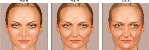 دلیل پیر شدن پوست صورت چیست و چگونه پیر می شود؟