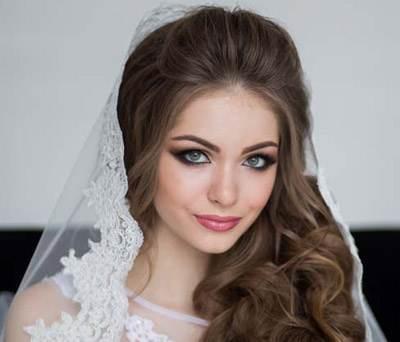مدل موی عروس جذاب و زیبا ویژه امسال