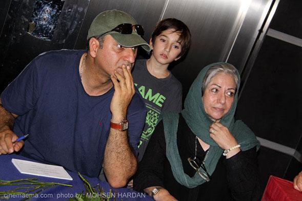 Photo of حمید فرخنژاد بیوگرافی حمید فرخ نژاد و عکس ها حمید فرخ نژاد و همسرش