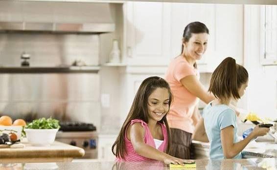 چگونه سختی خانه داری برای ما شیرین شود؟