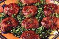 طرز تهیه کباب تابه ای با سبزی های معطر
