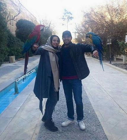 عکس های جذاب اشکان خطیبی و همسرش آناهیتا درگاهی