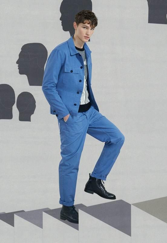 مدل های لباس اسپرت مردانه برند Maison Kitsune