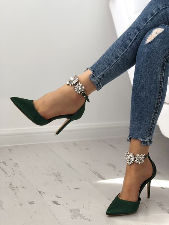 مدل کفش مجلسی پاشنه بلند
