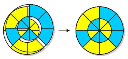 تست هوش پیدا کردن دایره های مکمل در تصویر