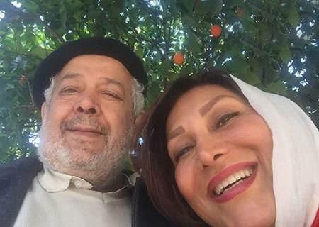عکس رضا فیاضی و همسرش
