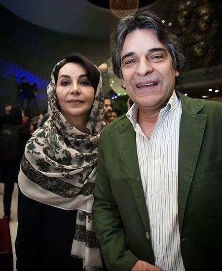 عکس اردلان شجاع کاوه و همسرش