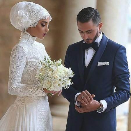 زیباترین مدل لباس های عروس پوشیده اسلامی