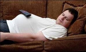 چاقی با عادات بد شبانه