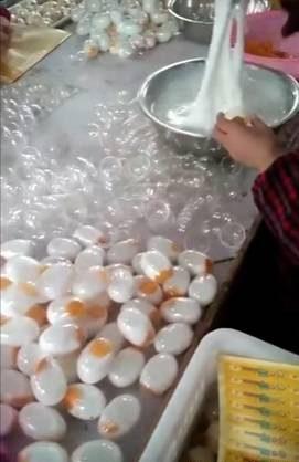 تخم مرغ چینی