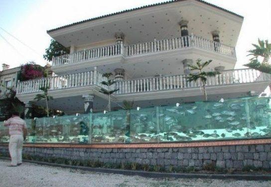 این تصاویر باورنکردنی مربوط به دیوارهای اطراف منزل یک ثروتمند است!