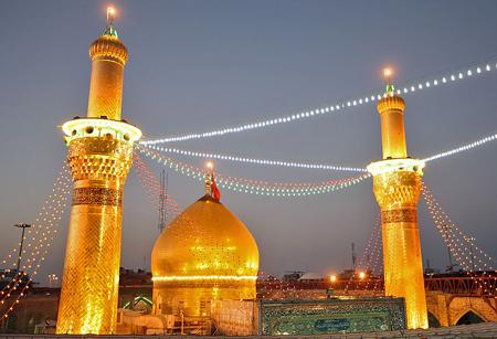 عکس های زیبا از درون حرم و بیرون حرم امام حسین (ع) کربلا