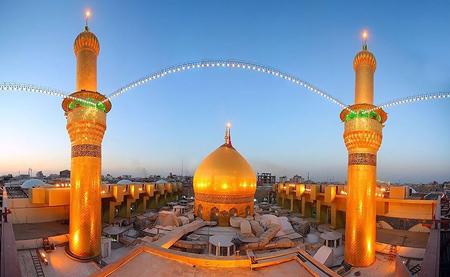 Photo of عکس های زیبا از درون حرم و بیرون حرم امام حسین (ع) کربلا