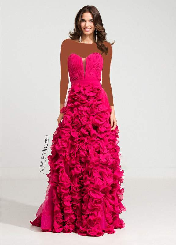 مدل لباس مجلسی برند Ashley Lauren