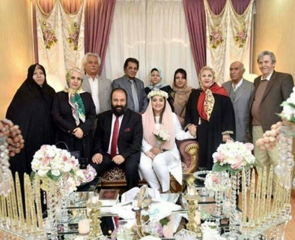 مراسم عروسی نرگس محمدی و علی اوجی, ازدواج نرگس محمدی