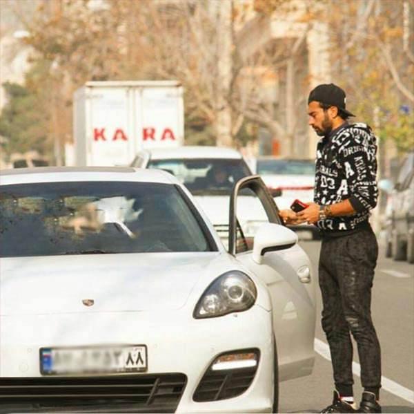 عکس های خودروهای لوکس و منزل گران قیمت رامین رضاییان فوتبالیست