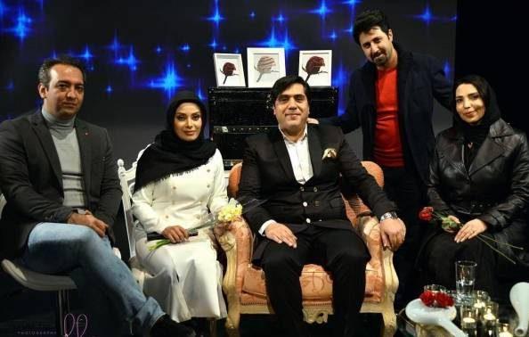 عکس مانی رهنما و صبا راد همسرش