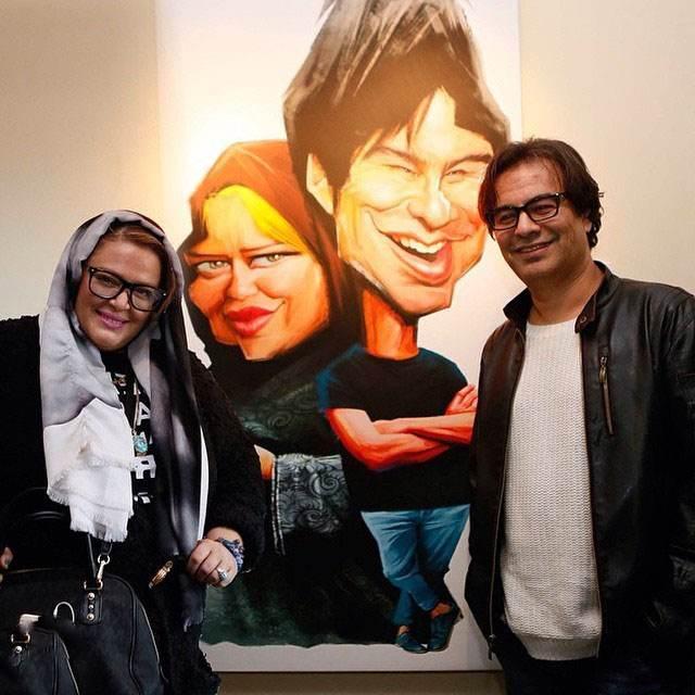 عکس بهاره رهنما و همسرش پیمان قاسم خانی