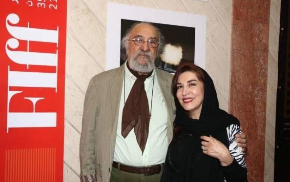 عکس داریوش ارجمند و همسرش