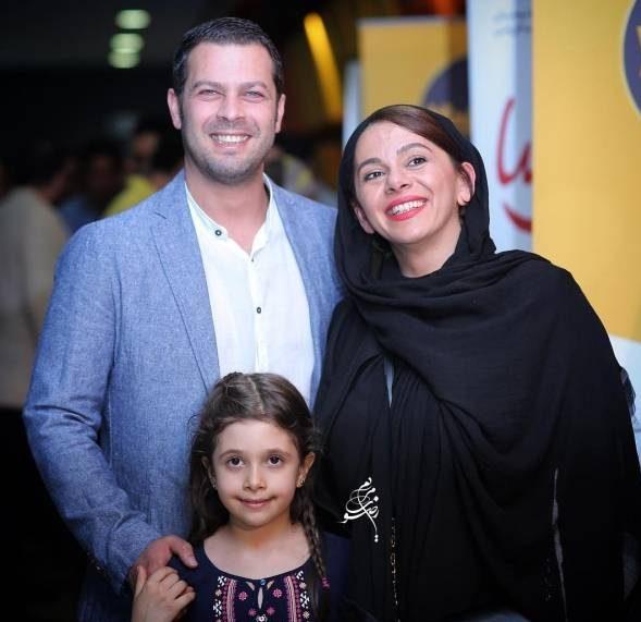 عکس جدید پژمان بازغی و همسرش