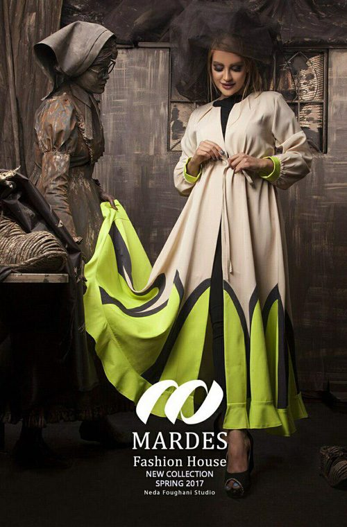 مدل مانتو مجلسی برند ایرانی ماردس