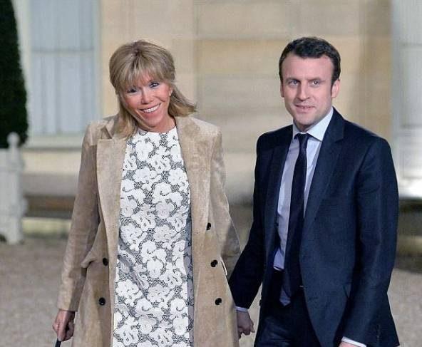 رئیس جمهور جوان و همسرش که 24 سال از خودش بزرگ تر است!