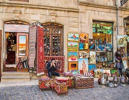 در سفر به باکو در آذربایجان سوغاتی چی بخریم؟