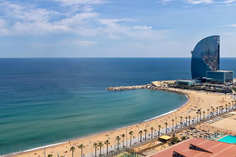 شهر بارسلونا در اسپانیا