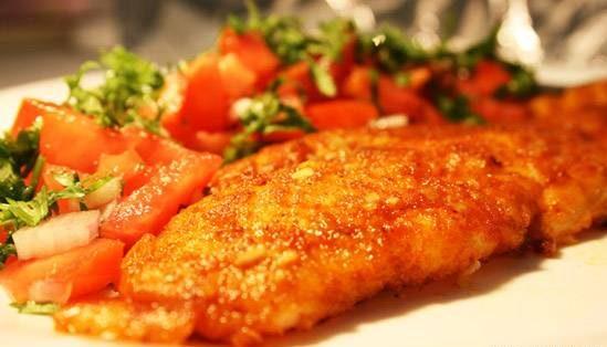 طرز تهیه ماهی شیر سرخ غذای