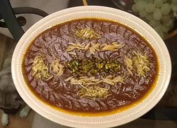 طرز تهیه حلوای مجلسی خوراکی محبوب و خوشمزه