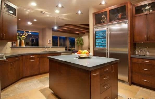 مدل های شیک کابینت جزیره ای کانتردار آشپزخانه