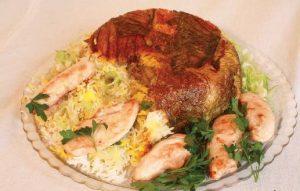 طرز تهیه کاهو پلو با گوشت مرغ با طعمی عالی