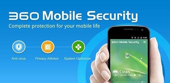 آنتی ویروس 360 Security سکوریتی سیصد و شصت
