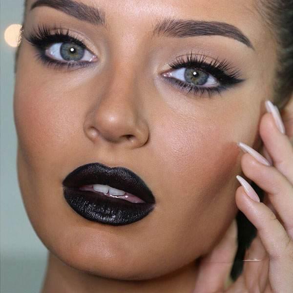 مدل های آرایش جذاب و شیک Chloe Morello چشم ابرو لب