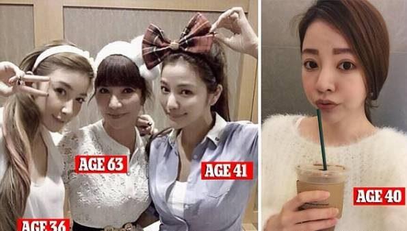 چهره این مادر 63 ساله از دخترانش جوان تر و زیباتر است!