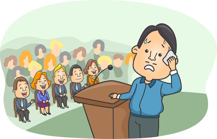 چگوه بدون ترس و استرس میان جمعیت صحبت کنیم؟