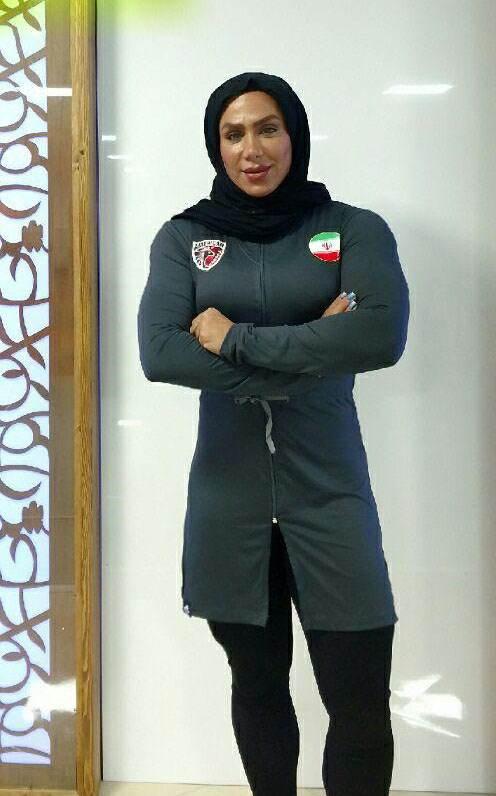 گفتگو با سارا مصطفی نژاد دختر ایرانی بدنساز با اندامی ورزیده
