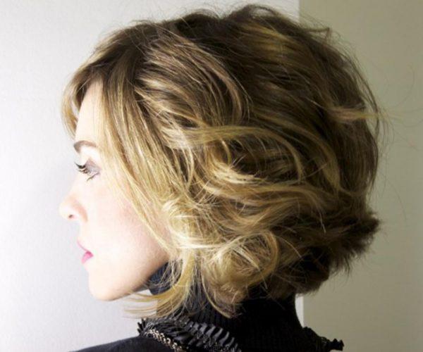 نمونه های مدل موی کوتاه زنانه و دخترانه موج دار زیبا