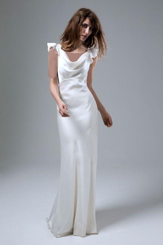 تصاویر مدل لباس عروس ساده و شیک برند Halfpenny
