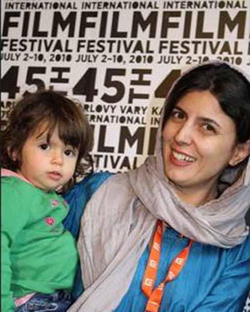 عکس لیلا حاتمی و دخترش