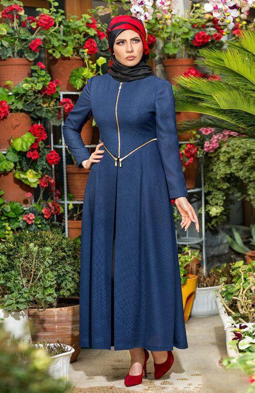مدل مانتو تابستانی زیبای ایرانی برند Hunar